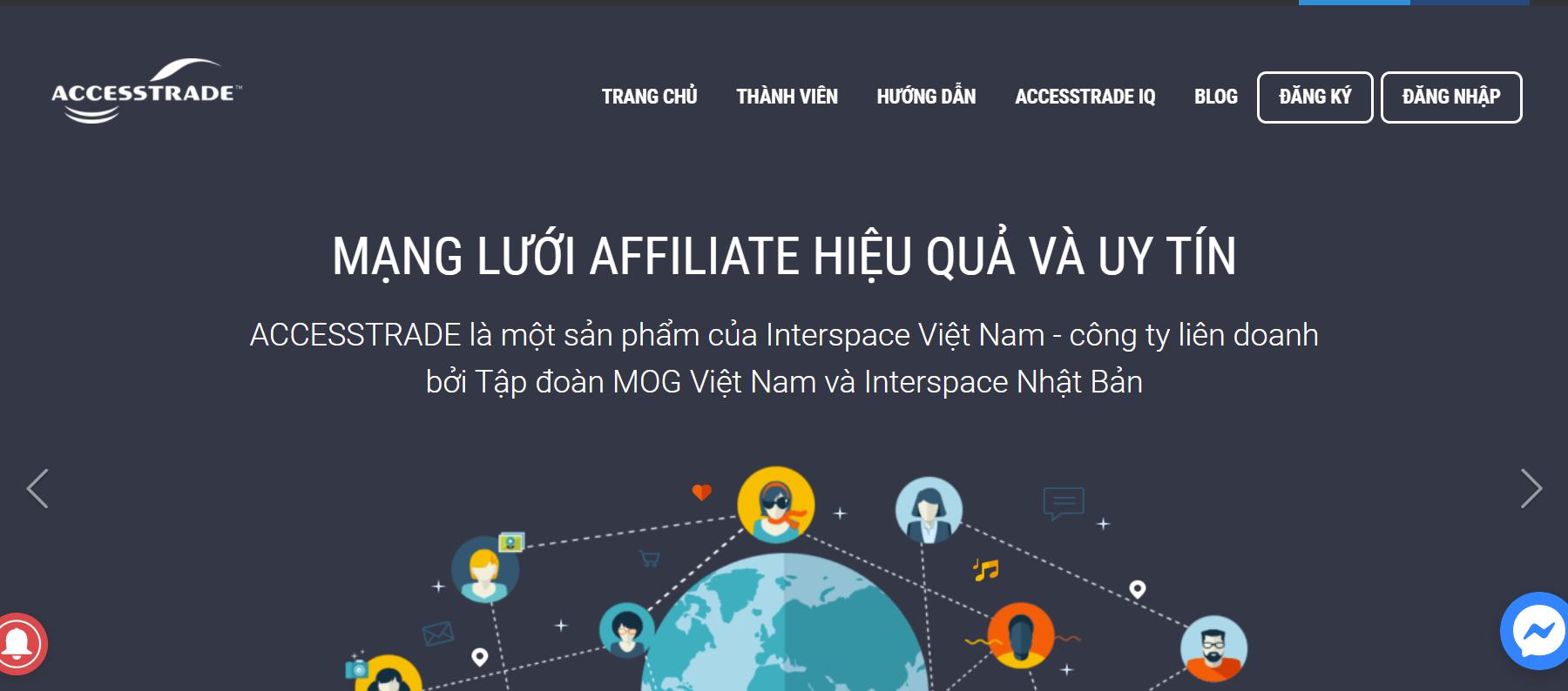 Hướng dẫn đăng ký tài khoản Accesstrade mới nhất 2021