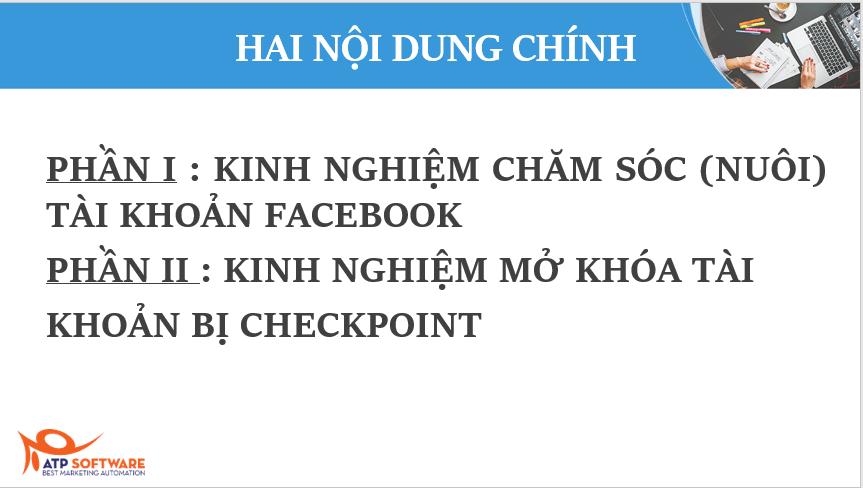 Kinh nghiệm chăm sóc và mở khóa tài khoản khi bị checkpoint - image 554452 on https://atpsoftware.vn