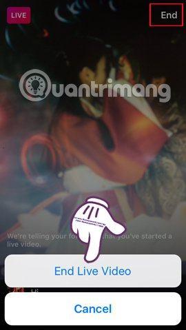 Cách phát Live Stream trên ứng dụng Instagram - image Instagram-Live-stream-End on http://atpsoftware.vn