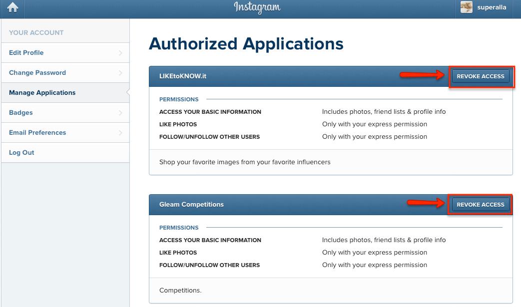 Tài khoản Instagram bị hack, đây là tất cả những gì bạn cần làm - image revoke-app on http://atpsoftware.vn