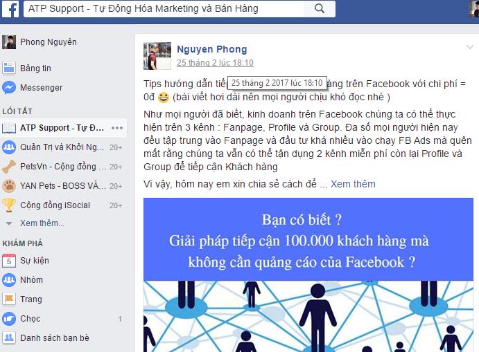 Hướng dẫn cách lấy UID trên Facebook 2017 - image chon-time-lay-uid on https://atpsoftware.vn
