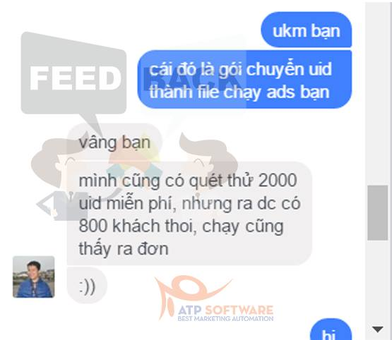 Feedback sử dụng Simple Ads