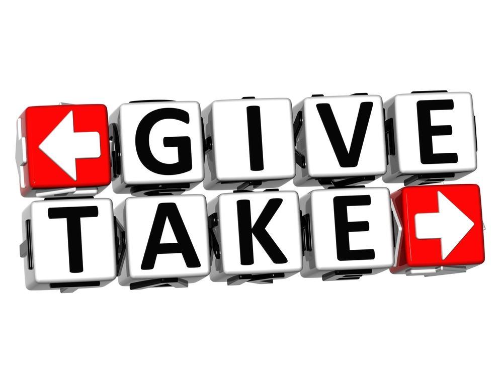 give and take - 5 nguyên tắc hoạt động marketing đối với Thương Mại Điện Tử