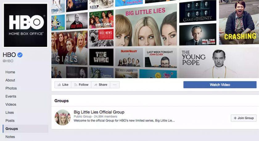 group page - Tính năng mới của Facebook cho phép Admin tạo nhóm riêng trong Page