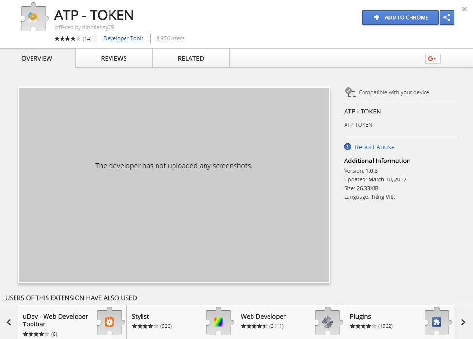1 2 - Hướng dẫn get token full quyền - ATP TOKEN