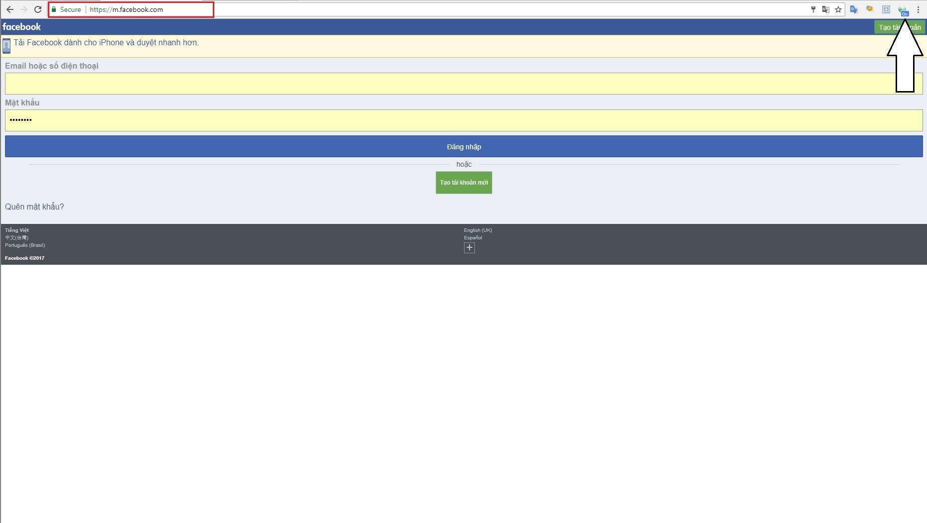 Vô hiệu hóa Facebook Malware Scanner - image 4 on https://www.atpsoftware.vn