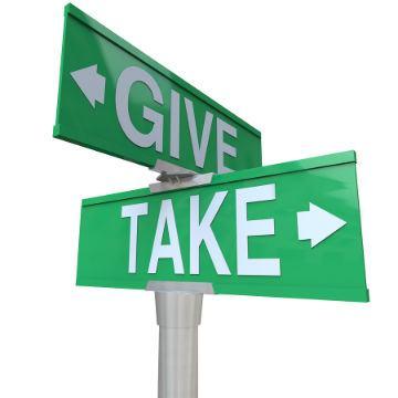 give and take - 9 Khái niệm Tâm lý học quan trọng áp dụng trong marketing