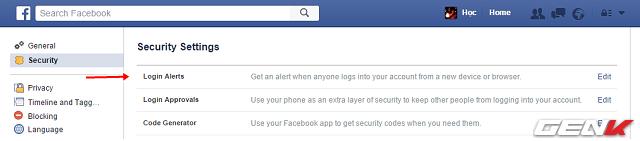 5 cach tang cuong bao mat cho tai khoan facebook ma ban nen su dung ngay 1 - Bật ngay 5 tính năng để bảo mật tài khoản Facebook của bạn tốt hơn !