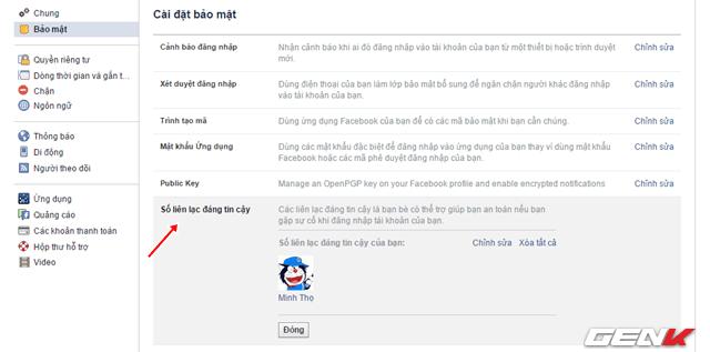 5 cach tang cuong bao mat cho tai khoan facebook ma ban nen su dung ngay 4 - Bật ngay 5 tính năng để bảo mật tài khoản Facebook của bạn tốt hơn !