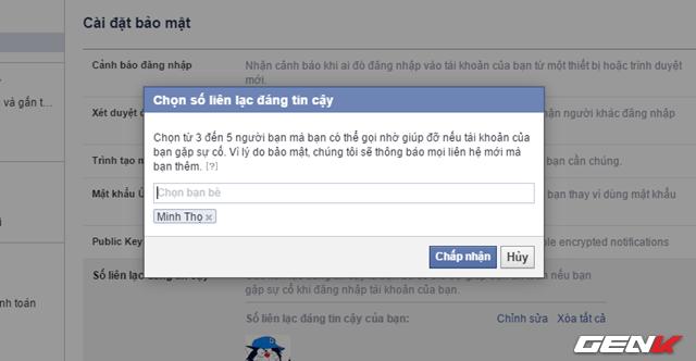 5 cach tang cuong bao mat cho tai khoan facebook ma ban nen su dung ngay 5 - Bật ngay 5 tính năng để bảo mật tài khoản Facebook của bạn tốt hơn !