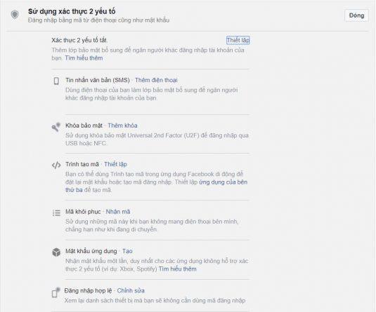Các bước bảo mật tài khoản Facebook vô cùng đơn giản