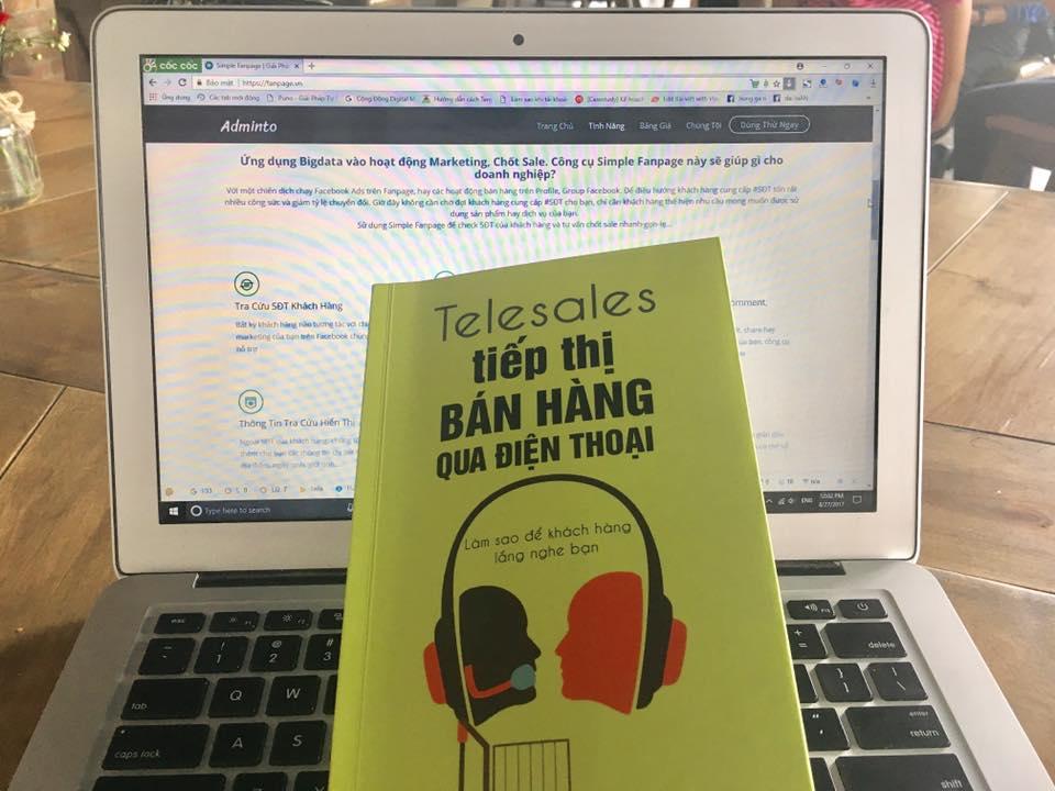 Chia sẻ sách hay về kiến thức hỗ trợ Telemarketing -
