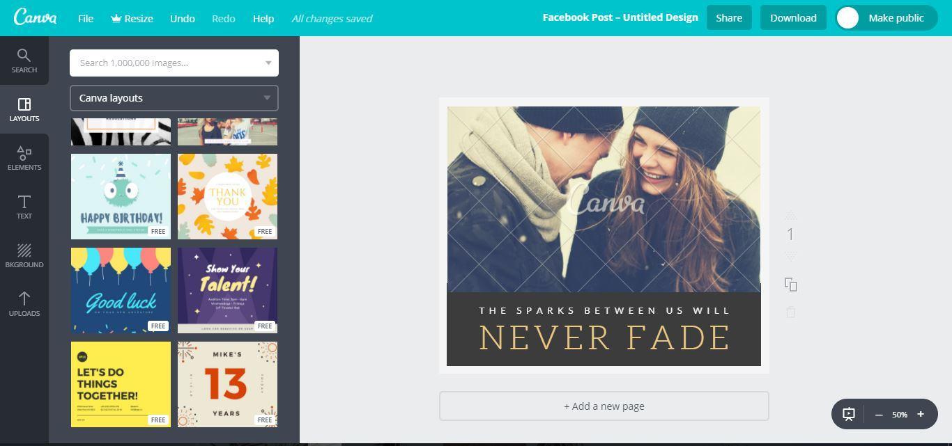 canva 2 - Hướng dẫn thiết kế ảnh avatar, ảnh bìa, ảnh bán hàng miễn phí cực đẹp bằng Canva