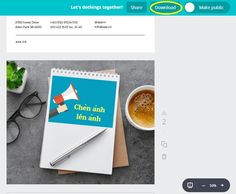 canva 9 - Hướng dẫn thiết kế ảnh avatar, ảnh bìa, ảnh bán hàng miễn phí cực đẹp bằng Canva