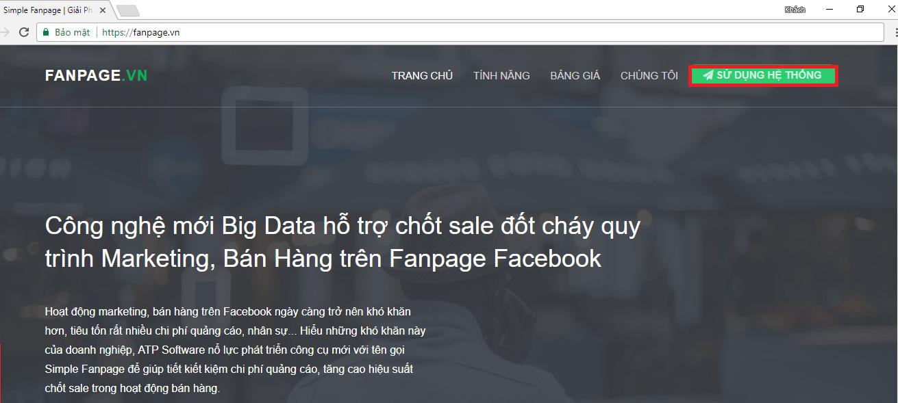 fan 1 - Hướng dẫn sử dụng Simple Fanpage - Giải pháp tra cứu SDT khách hàng trên Facebook