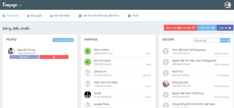 fan 2 - Hướng dẫn sử dụng Simple Fanpage - Giải pháp tra cứu SDT khách hàng trên Facebook