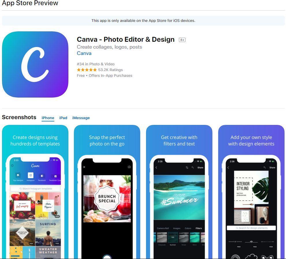 ios canva - Hướng dẫn thiết kế ảnh avatar, ảnh bìa, ảnh bán hàng miễn phí cực đẹp bằng Canva