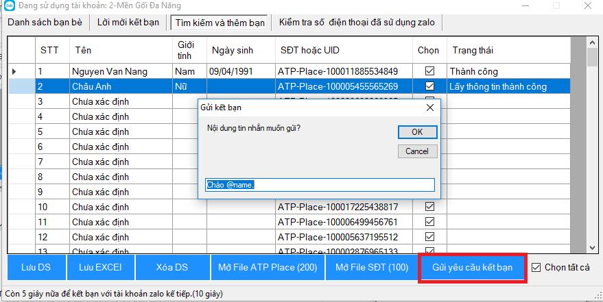 zalo 3 - Hướng dẫn cách dùng phần mềm bán hàng online trên Zalo miễn phí