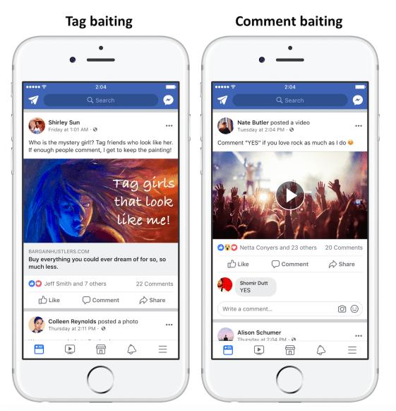 Facebook cập nhật :  Giảm hiển thị cực mạnh với các bài viết câu tương tác ! - image combo22 on https://atpsoftware.vn