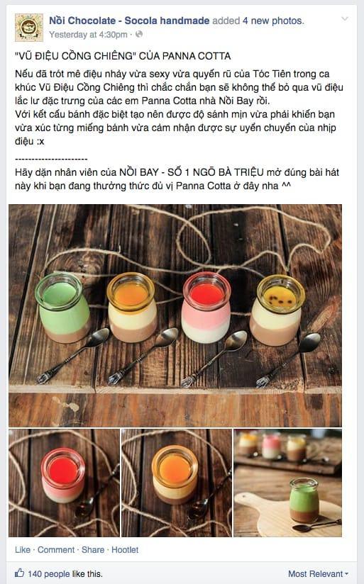 5 sai lầm cơ bản khi quản lý Fanpage Facebook - image Ni-Chocolate-th-hin-tt-c-tnh on https://atpsoftware.vn