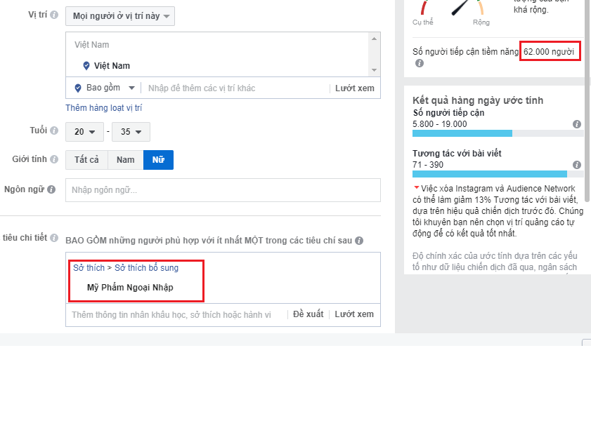 Kỹ thuật đánh giá các Interest của Facebook - Lí do vì sao bạn chạy quảng cáo Facebook không hiệu quả ! - image target-ads on https://atpsoftware.vn