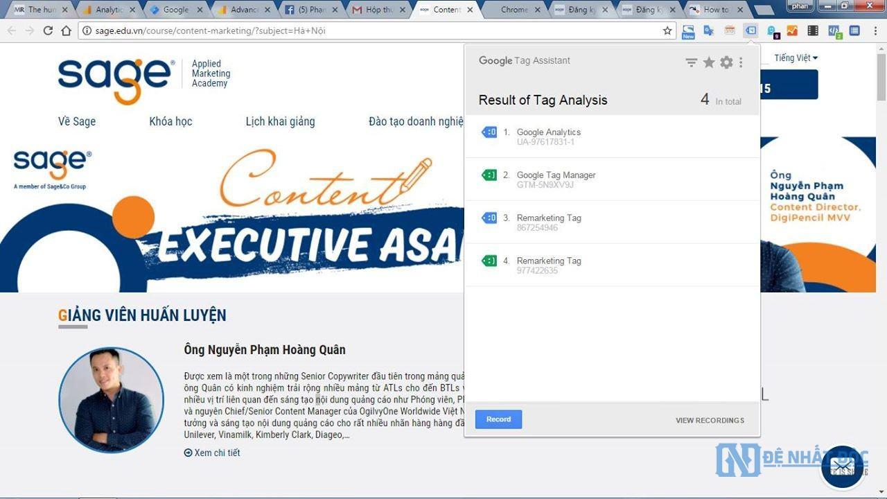 thu thuat danh gia hoat dong digital marketing cua doi thu 5 - Hướng dẫn đánh giá hoạt động Digital Marketing của đối thủ