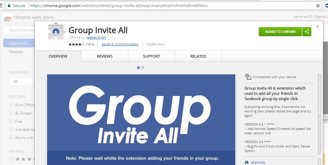 Hướng dẫn thêm bạn bè vào nhóm , mời like fanpage trên facebook - image 34 on https://atpsoftware.vn