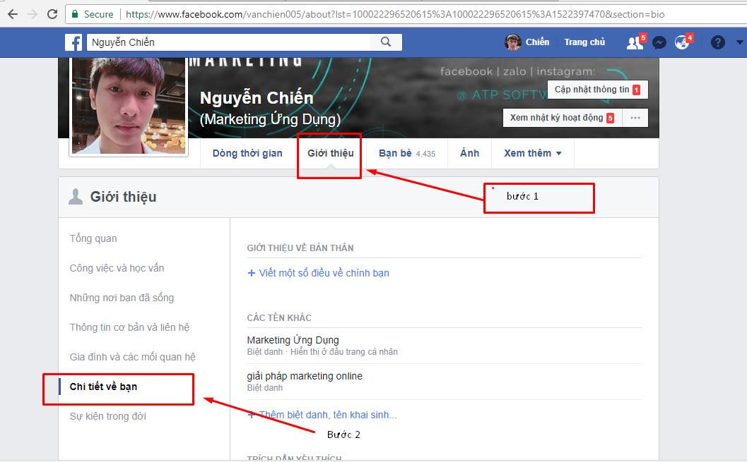 Hướng dẫn đổi tên tài khoản & thêm tên phụ trên Facebook - image 9 on https://atpsoftware.vn
