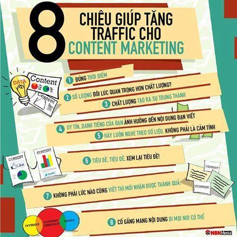 bai hoc content hay - 8 THỦ THUẬT GIÚP TĂNG TRAFFIC KHI LÀM CONTENT MARKETING