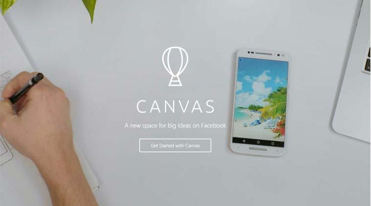 """canvas facebook big - Canvas được coi như một """" phiên bản Instant Ads"""" – sẽ đem lại điều mới lạ trong cuộc cạnh tranh của các nhà quảng cáo chuyên nghiệp về chiến dịch Mobile Marketing."""