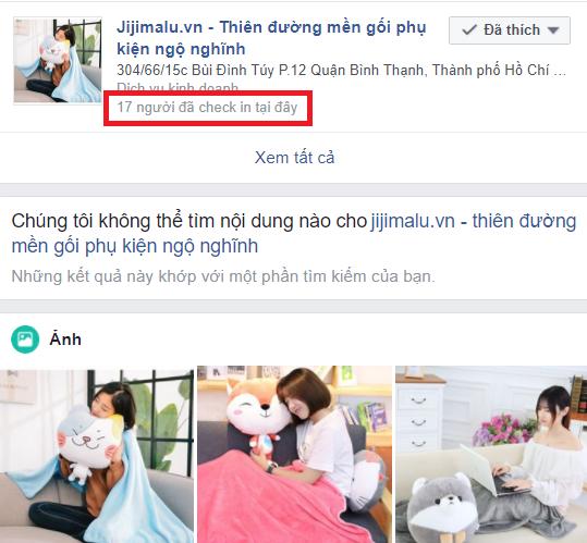 Fanpage đã có thêm 16 người checkin mới