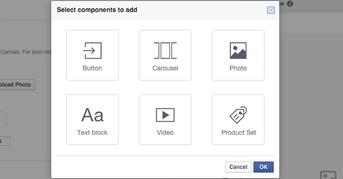 tao facebook canvas 7 - Hướng dẫn tạo post quảng cáo Facebook Canvas