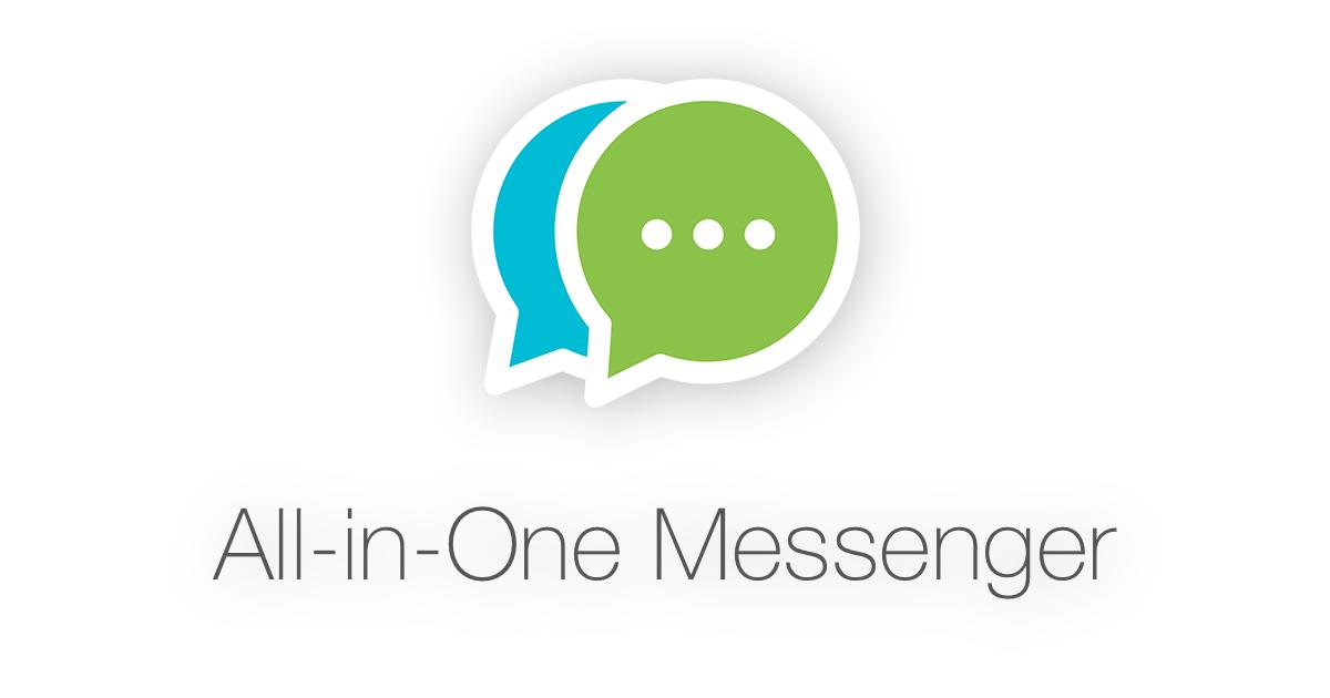 Kết quả hình ảnh cho All in one messenger