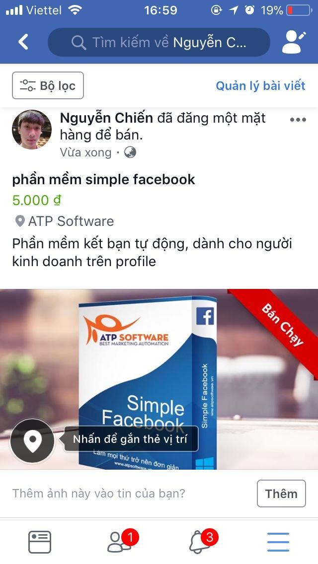 Hướng dẫn đăng bài bán hàng trên facebook mới nhất 2018 - image e-1 on https://atpsoftware.vn