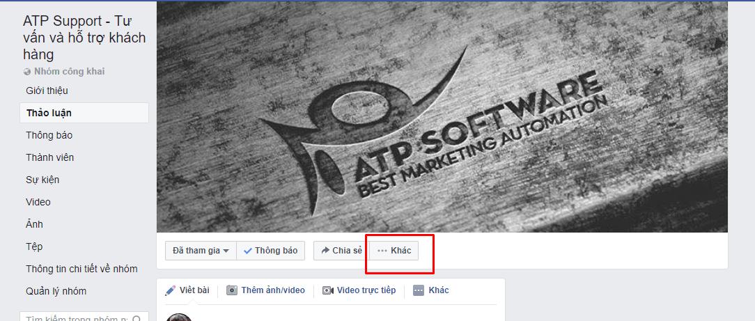 v - Hướng dẫn cách thay đổi tên nhóm Facebook bạn quản trị