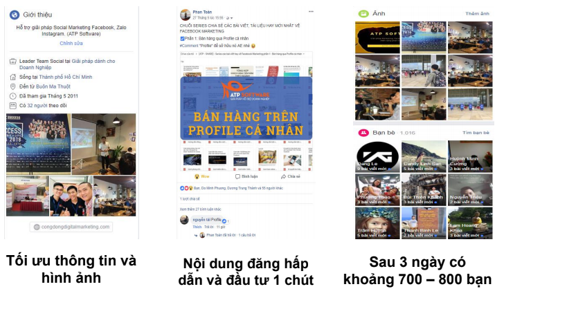 3 1 - Case study xây profile Facebook trong 3 ngày