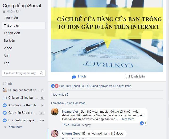 dang bai len group - Chia sẻ kinh nghiệm bán hàng online Facebook hiệu quả từ ATP Software