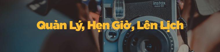 quan ly dat lich instagram - Top 10 công cụ quyền năng hỗ trợ Instagram Marketing cực đỉnh 2018