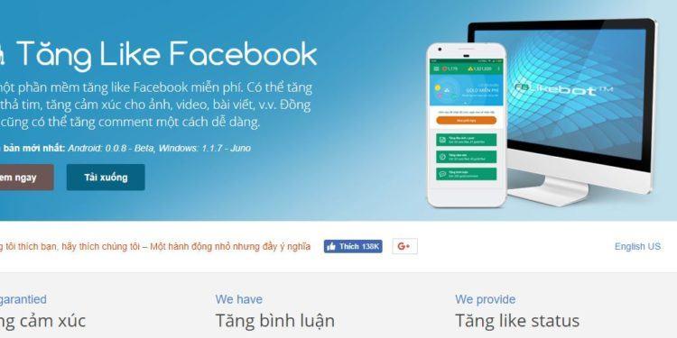 fblikebot 750x375 - Trọn bộ phần mềm marketing Facebook hỗ trợ bán hàng online của ATP Software