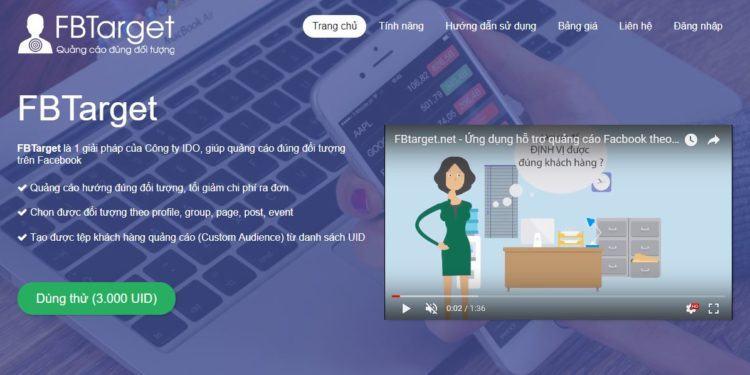 fbtarget 750x375 - Danh sách các phần mềm marketing facebook tốt nhất hiện nay