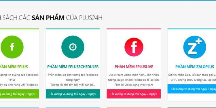 fplus24h 750x375 - Danh sách các phần mềm marketing facebook tốt nhất hiện nay