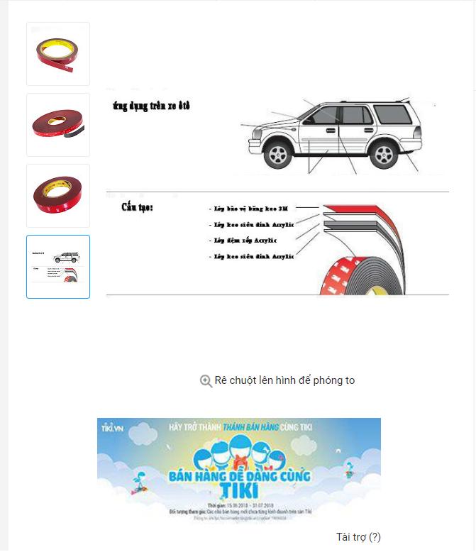 hình ảnh sản phẩm chi tiết bắt mắt - Hướng dẫn bán hàng trên Tiki – Phần 4 : Bí quyết bán sách CHỤC ĐƠN HÀNG mỗi ngày trên Tiki