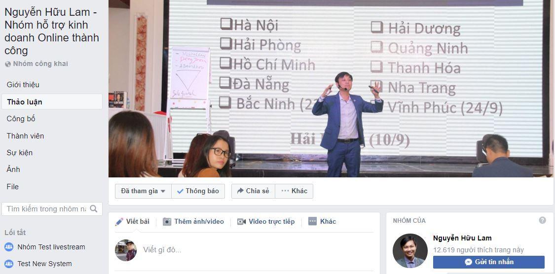 nhom ho tro ban hang online miên phi - Hướng dẫn Affiliate ATP Software kiếm tiền online trên Facebook Group