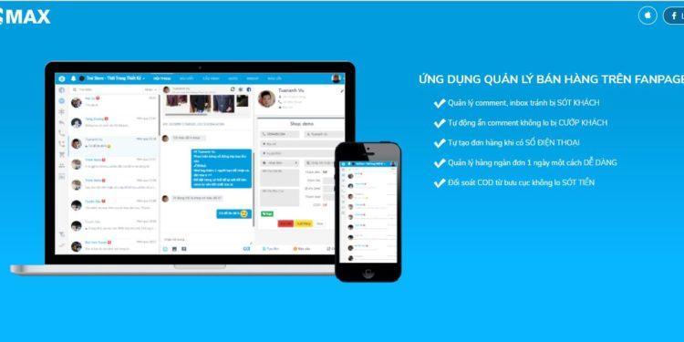 quan ly inb page 750x375 - Trọn bộ phần mềm marketing Facebook hỗ trợ bán hàng online của ATP Software