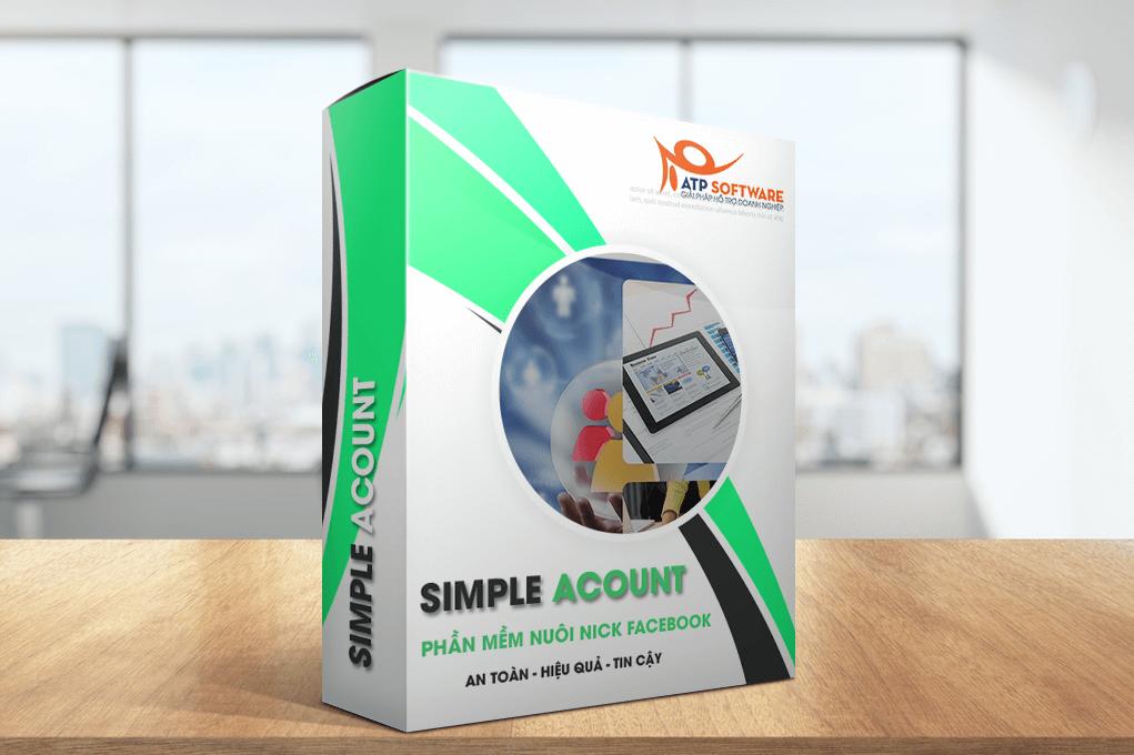 simple account - Hướng dẫn sử dụng phần mềm simple Account để tăng tương tác Facebook bán hàng
