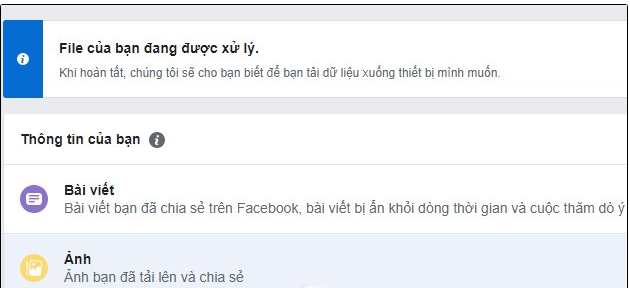 back up sao dữ liệu facebook 6 - Backup dữ liệu facebook là gì? Hướng