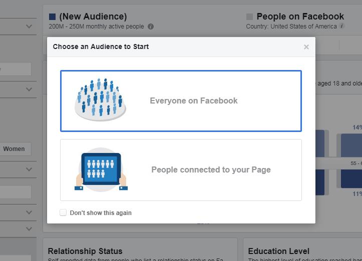 huong dan audience insight 2 - Facebook Audience Insights là gì ? Cách sử dụng để phân tích đối tượng khách hàng