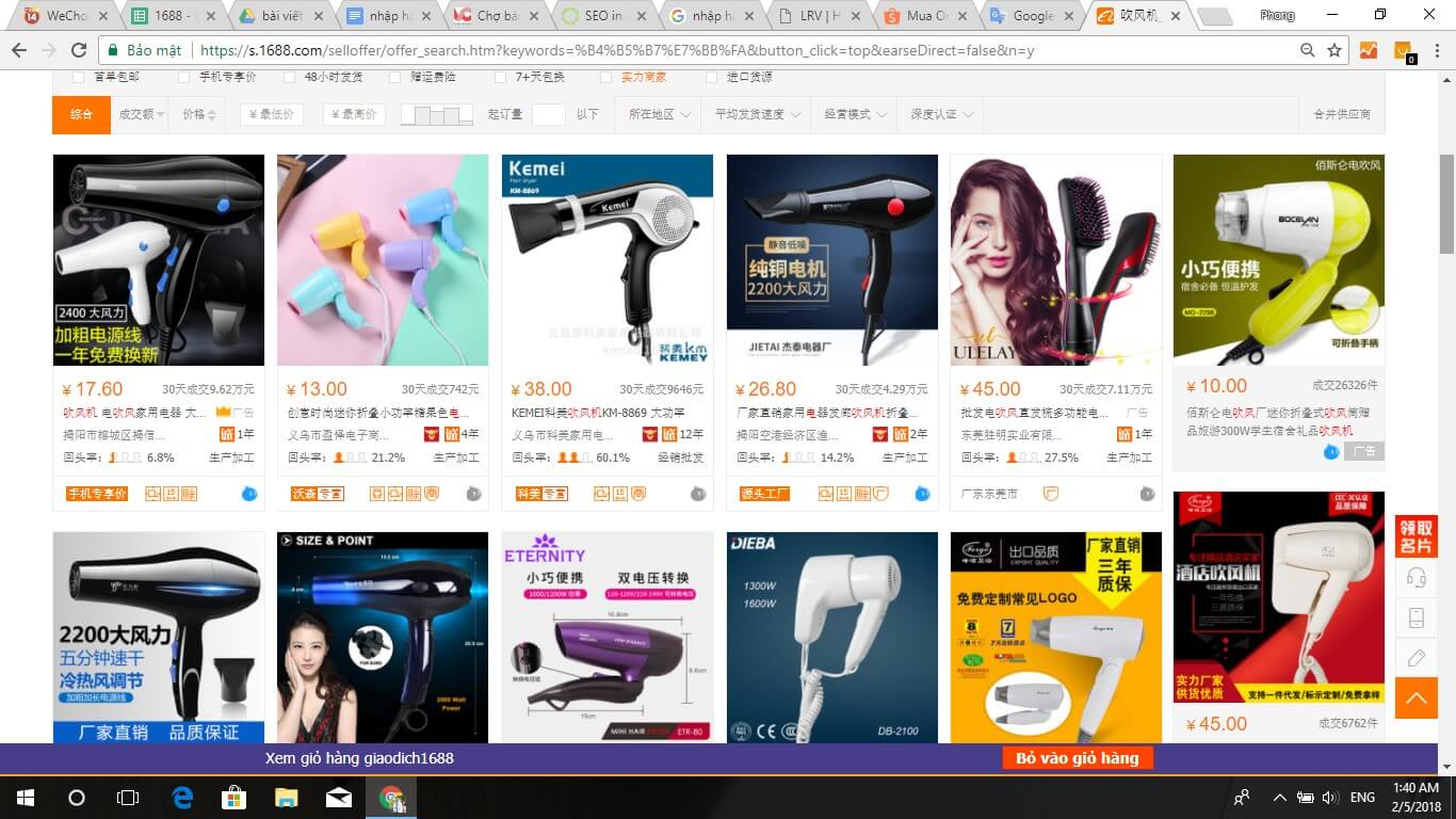 2018 02 24 dea007a0e8 - Hương dẫn nhập hàng gia dụng Trung Quốc giá rẻ, chất lượng