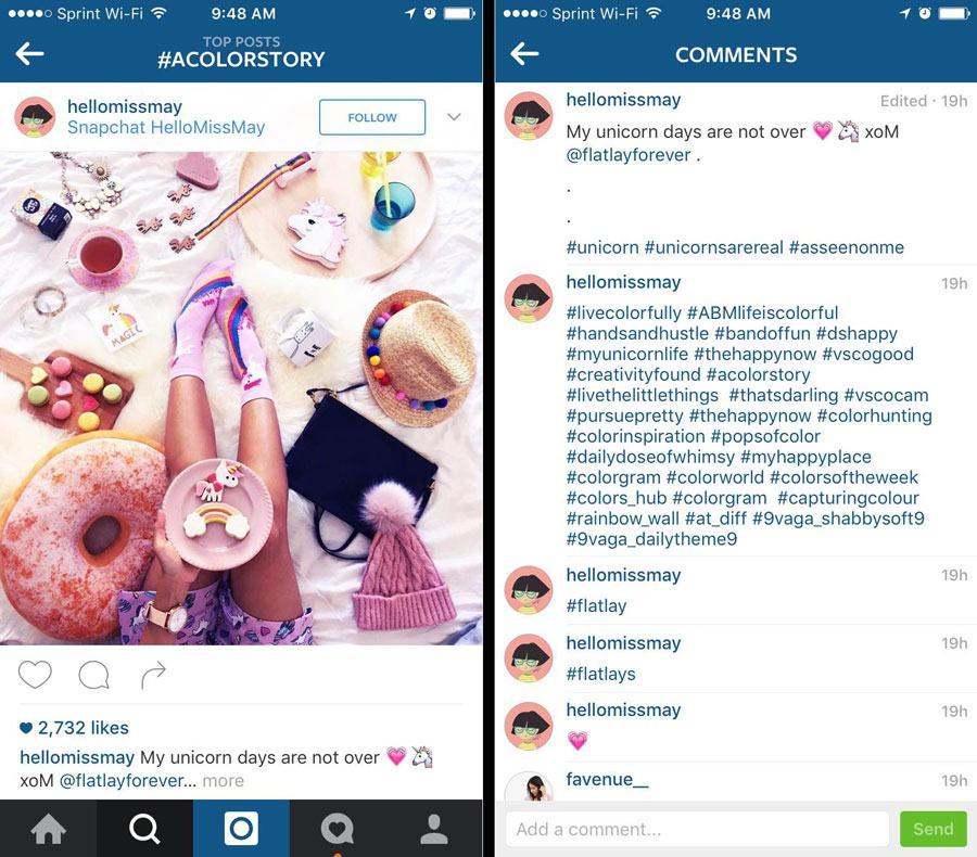Tips Choosing instagram Hashtags Engagement 4211 - Bán hàng trên instagram: Cách đạt 20k followers và 20 đơn hàng sau một tháng