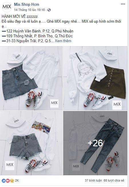 b16 phan tich kinh doanh fanpage mixshop hcm - Phân tích Shop kinh doanh thời trang online trên Facebook
